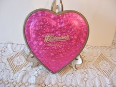 Heart Shaped Valentine Candy Boxes @ Vintage Touch $4.50