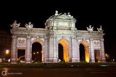 Porta de Alcalá, Madri, Espanha - Arquitetura e lugares | Osvaldo Furiatto Fotografia e Design