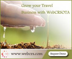 Grow your Travel Business with WebCRS- OTA For more details : www.webcrs.com