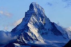 Switzerland, Matterhorn. It is incredible to ever get to see the entire thing because its so tall and so cloudy in Switzerland. New goal in life, see the matter horn in all its glory, bottom to top.