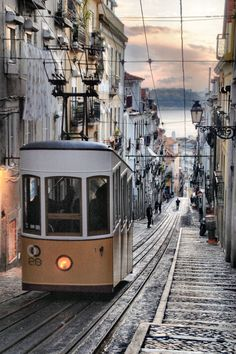 ★ Lisboa melancólica--been here and walked up that crazy hill to our hostel with Kel. #missingeurope #portugal