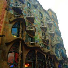 Casa Batlló. Gaudí. Barcelona