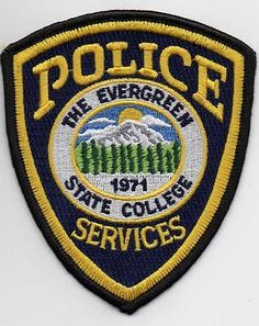 The-Evergreen-State-College-Police-Shoulder-Patch-Olympia-Washington