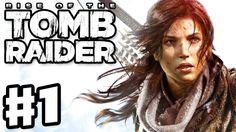 Rise of the Tomb Raider - Gameplay Walkthrough Part 1 - Lara Croft, Tomb...