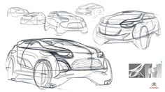 citroen sketch - Google 검색