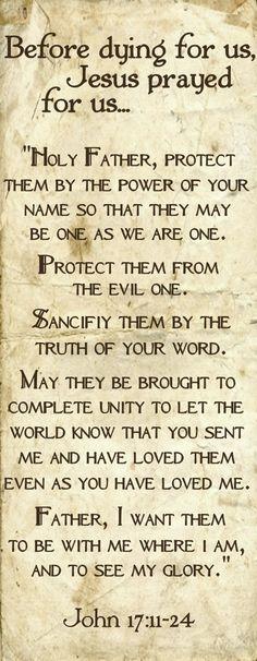John 17.11-24