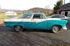 Two-Tone Dichotomy: 1956 Ford Crown Victoria - http://barnfinds.com/two-tone-dichotomy-1956-ford-crown-victoria/
