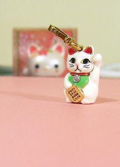 Lucky Cat Charm