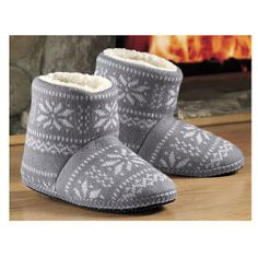 Nordic Boot Slipper - Kitchen products, Home Décor, Apparel, Gardening and more | Country Store
