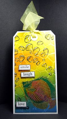 Eileen's Crafty Zone: Designs By Ryn. New....'Rising Bubbles' Stamp and more!