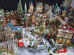 Lemax Christmas Village displays