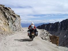 The Complete Beginner's Guide to Leh Ladakh Road Trip >>> But you cannot hit the roads directly as it requires a lot of planning beforehand. We have tried to cover as many things as possible for a bike trip to Leh. Places Around The World, Around The Worlds, Places To Travel, Places To Visit, Dangerous Roads, Leh Ladakh, Mysterious Places, India Tour, Adventure Activities