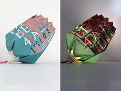 Lampes Origami Inoow x Dezzig