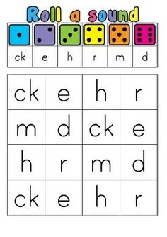 This engaging activity is great for subitising and learning the second set of jolly phonics sounds at the same time! Students roll a six sided dice and cross the letter which corresponds with the number on the table. First player to cross off all their sounds wins!Check out my store to download my other Jolly Phonics 'Roll a Sound' games for free!Looking to extend students that already know their single sounds?