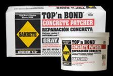 TOP'n BOND Concrete Patcher - Sakrete - Patching, Repairing, Resurfacing Concrete