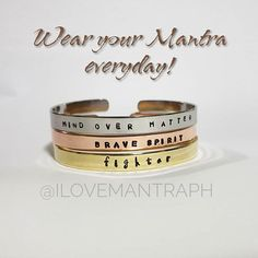 Give your loved ones the gift of inspiration and positive vibes. Still a few slots for Christmas orders. Talk to us. FREE GIFT BOX for orders received this month. Mind Over Matter, Mantra, Be Still, Positive Vibes, Free Gifts, Ph, Cuff Bracelets, First Love, Positivity