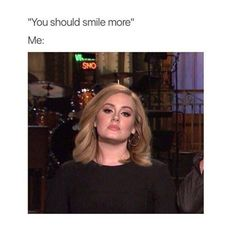 """Memes, Black, and 🤖: """"Why do you always wear black?"""" Me: just in case you die SNO All black everything. Adele Meme, Funny Pictures With Captions, Funny Pics, Top Funny, Just For Laughs, Laugh Out Loud, Just In Case, Decir No, I Laughed"""