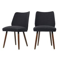 Ethel Dining Chair Gray Set Of 2, $545, now featured on Fab.