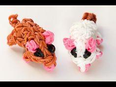 Wie erstelle ich eine Rainbow Loom 3D Maus | Rainbow Loom Anleitungen