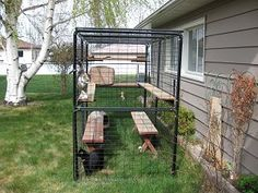 Cat Cages and Enclosures, customer photo gallery of cages and enclosures by Cats-On-Line.