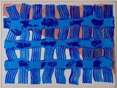 "Virgil Carrillo, ""Bakod"" | Acrylic & Ink on Canvas | $4,500 | Source: http://www.art-mine.com/artistpage/virgil_carrillo.aspx | Agora Gallery | Contemporary Fine Art | NYC, NY."