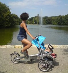 Show your baby more of the world quicker. Feel your baby's need for speed. :>)
