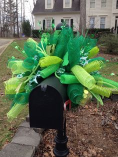 1000 images about mailbox glamour st patricks day on. Black Bedroom Furniture Sets. Home Design Ideas