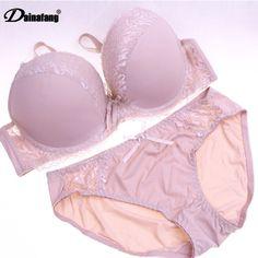 5e328e8469 Aliexpress.com   Buy 38C 40D 42DD Large Cup Women Push Up Print Bra Sets  Rose Lingerie Set Appliques bracelet Sexy Underwear Bra Panty Sets Intimates  from ...