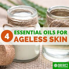 Essential oils for ageless skin and other whole body health techniques can actually erase the damage that time inflicts, leaving you looking younger.