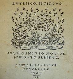 Device of Sebastianus Gryphius, 1493-1556