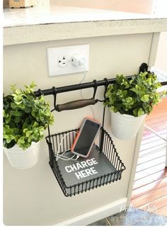Tip of the Day  Wired Wednesday   A Charging Station For Your Phone That's Both Cute And Handy