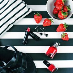 Stripes & Strawberries :-D