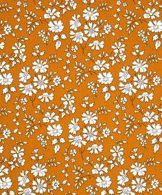 Liberty fabric Tana Lawn Capel G Fat by ZuzusCrafts 60s Patterns, Fabric Patterns, Flower Patterns, Print Patterns, Motif Liberty, Liberty Fabric, Liberty Print, Retro Pattern, Pattern Art
