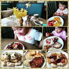 """Repost @house.0f.el  we love seeing posts of happy customers at the restaurant! #elisfans  #comfortfood #homecooked #lilrhody #brunch #deliciousness #handmade #farmfresh #farmtofork #rieats #eatlocal #yum #happycustomer #eliskitchenwarren"" via @eliskitchenwarren"