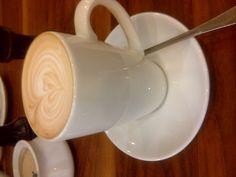 A honey nut latte. FAVOURITE!!!!Woolworths Cafe', Durban/Gateway