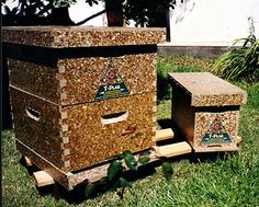 Placas ecológicas hechas compactando tetrabricks, ¡sirven para todo! (recycled tetra brick panels for construction)