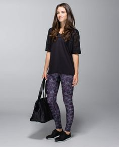 Wunder Under Pant*Roll Down*FL. Yeah I'm going to have to get these as well. #lululemon