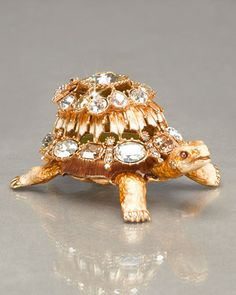 Emory Turtle Box by Jay Strongwater at Neiman Marcus.
