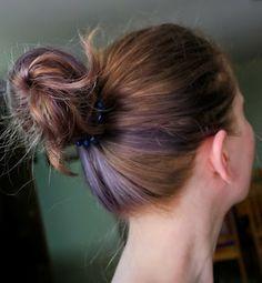 MANIC PANIC Purple bun