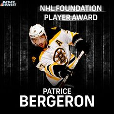 2014 NHL Award Winner Nhl Awards, Patrice Bergeron, Hockey, Baseball Cards, Sports, Award Winner, Hs Sports, Field Hockey, Sport