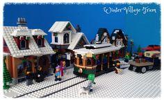 Winter Village Tram | by Miro78