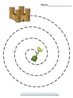 Mazes for Kids Tracing Worksheets Distance Learning Packets Special Education : Tracing Worksheets, Printable Preschool Worksheets, Kindergarten Worksheets, Worksheets For Kids, Preschool Learning Activities, Motor Activities, Prewriting Skills, Mazes For Kids, Preschool Writing
