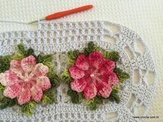 Tapete catavento - passo a passo (78) Crochet Squares, Crochet Granny, Love Crochet, Knit Crochet, Crochet Projects, Make Your Own, Diy And Crafts, Crochet Patterns, Quilts