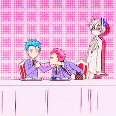 ouran high school funny gifs | gif ouran high school host club haruhi fujioka Tamaki Suou ohshc ...