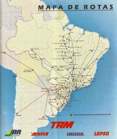 TAM route map