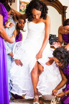 Multicultural Kenyan and Nigerian Wedding in California: Mima + Blessing - Munaluchi Bridal Magazine South African Fashion, African Fashion Designers, Kenyan Wedding, Park Photography, Shades Of Purple, Perfect Wedding, Real Weddings, Wedding Day, Bridal