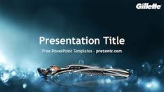 The free Gillette PowerPoint Template has a blue background with a Gillette logo and product that makes it look stunning for presentations about. Ppt Template, Templates, Power Points, Presentation, Free, Google Search, Stencils, Template