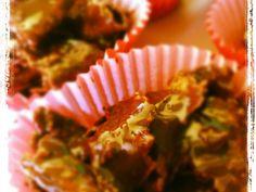 Roses des sables au chocolat faciles - Recette de cuisine Marmiton : une recette