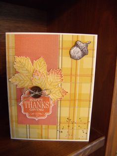from Stampin UP