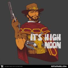 Clint McCree T-Shirt - Overwatch T-Shirt is $11 today at Ript!